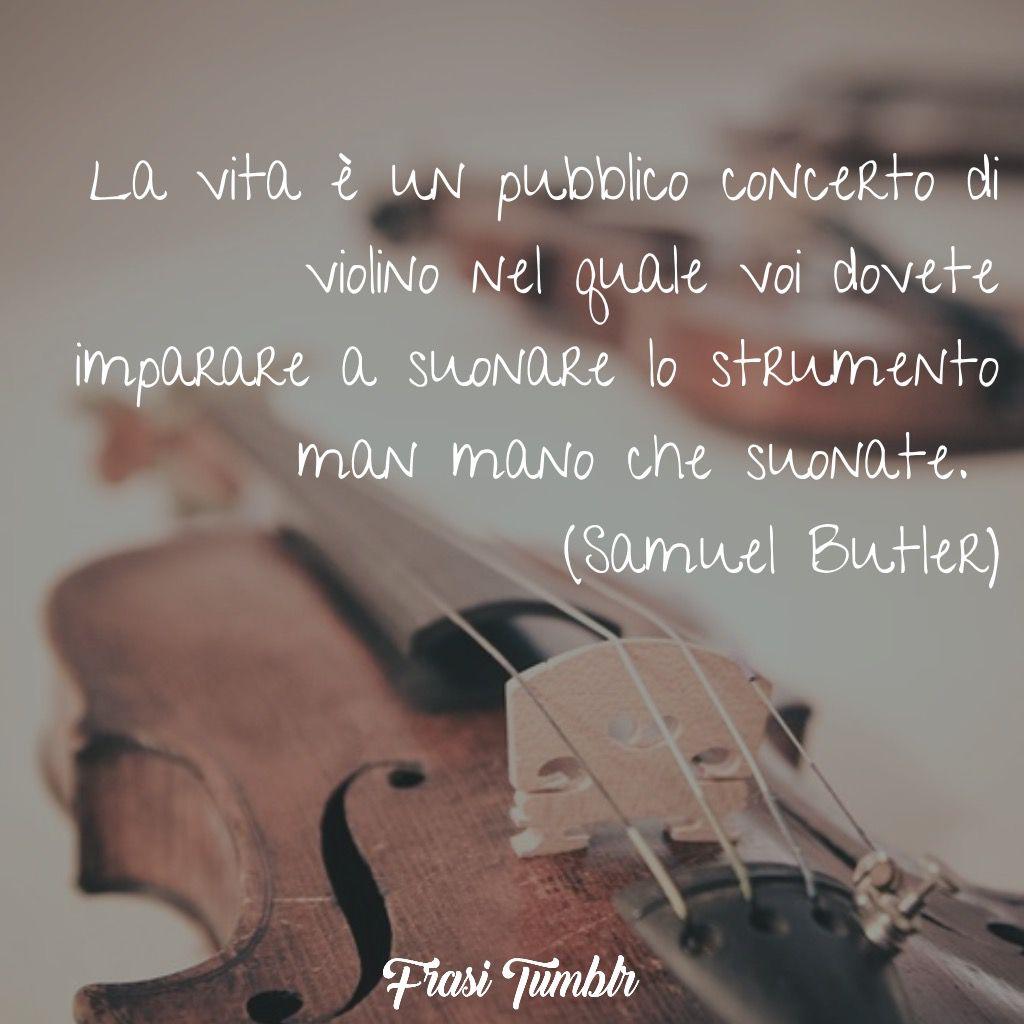 frasi vita violino suonare butler