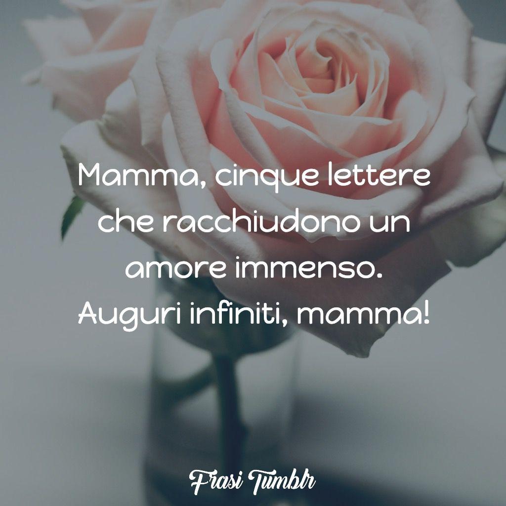 buon compleanno mamma cinque lettere amore