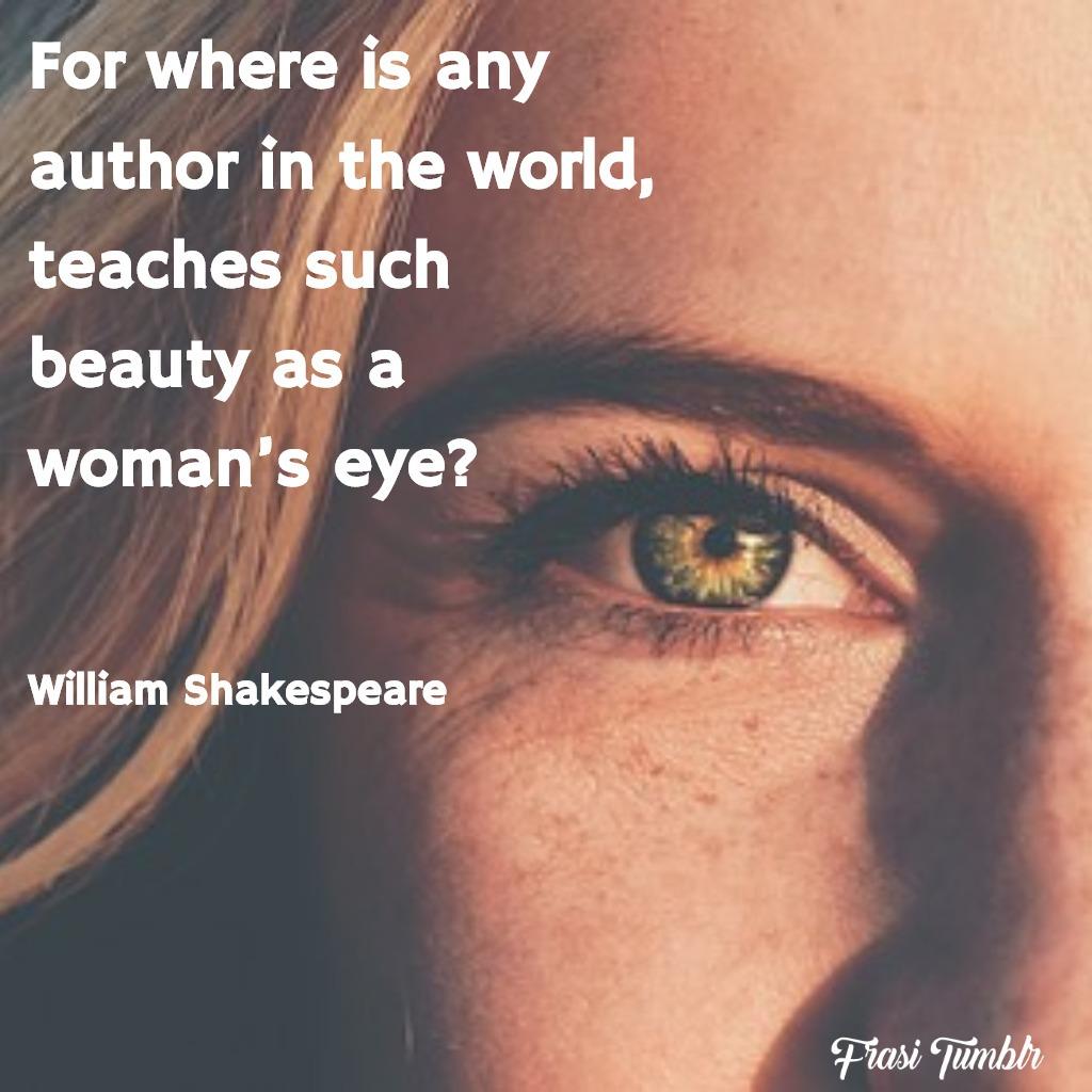 frasi-bellezza-inglese-sguardo-donna