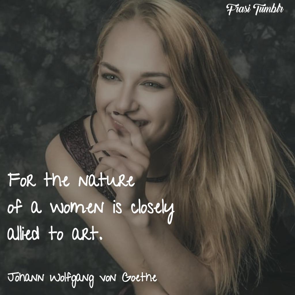 frasi-donne-inglese-natura-donna-arte