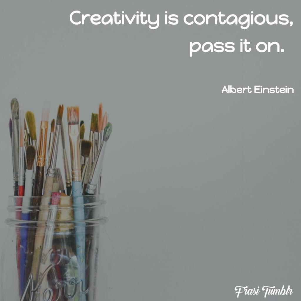 frasi-arte-inglese-creatività-contagiosa