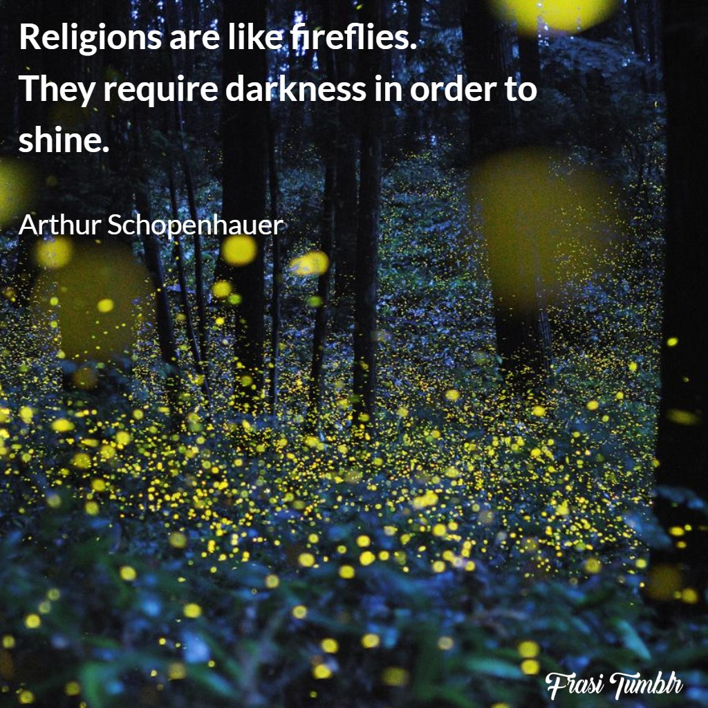 frasi-atee-ateismo-inglese-religione-lucciole-brillare-buio