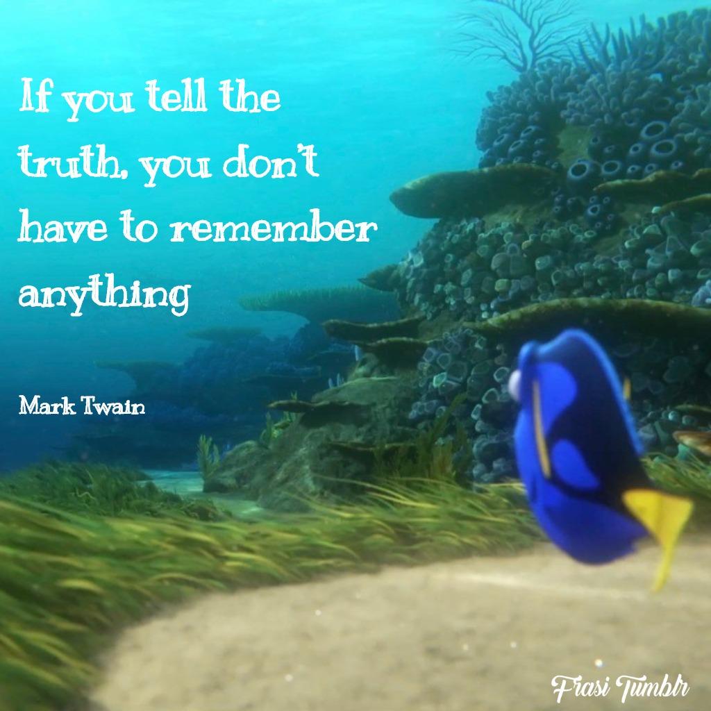 frasi-bugie-inglese-verità-ricordare-nulla