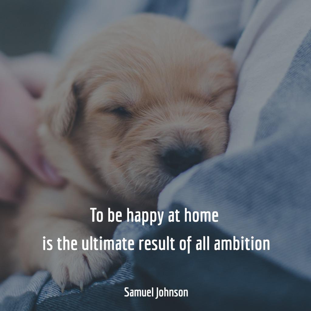frasi-casa-inglese-felici-ambizione