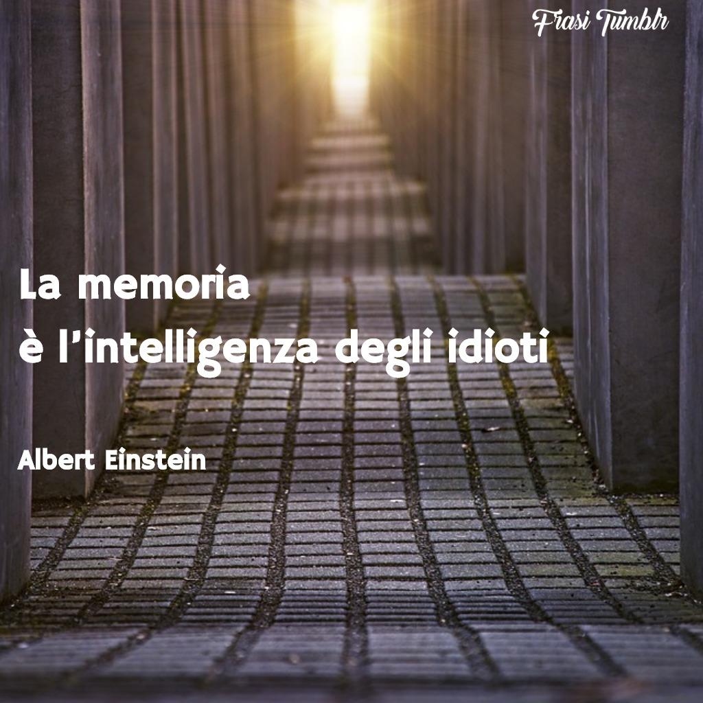 frasi-einstein-memoria-intelligenza