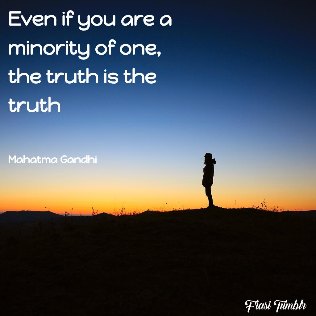 frasi-gandhi-inglese-minoranza-verità
