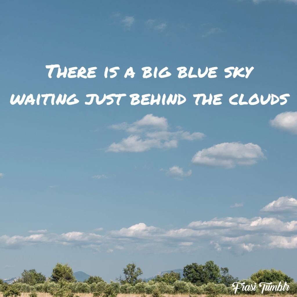 frasi-cielo-blu-inglese-nuvole