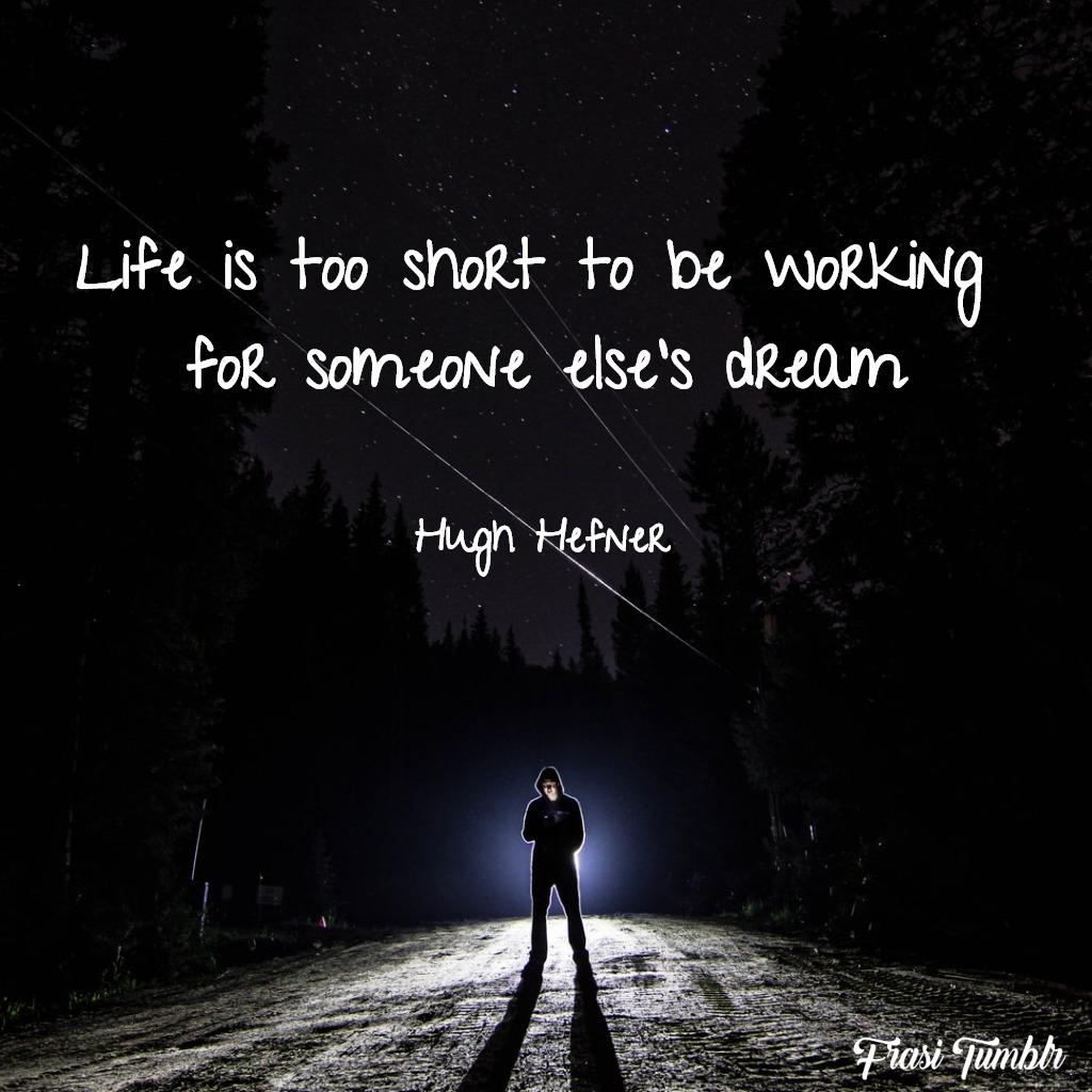 frasi-vita-inglese-sogno-lavoro