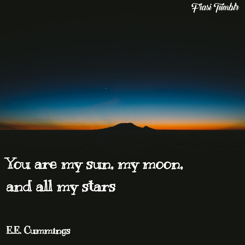 frasi-amore-inglese-sole-stelle-luna