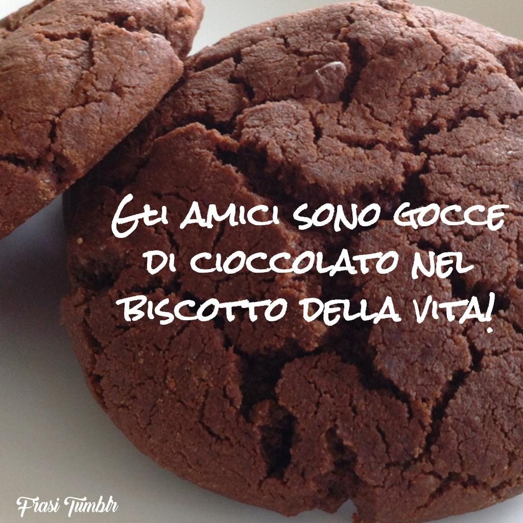 frasi-divertenti-zen-amici-gocce-gioccolato-biscotto-vita