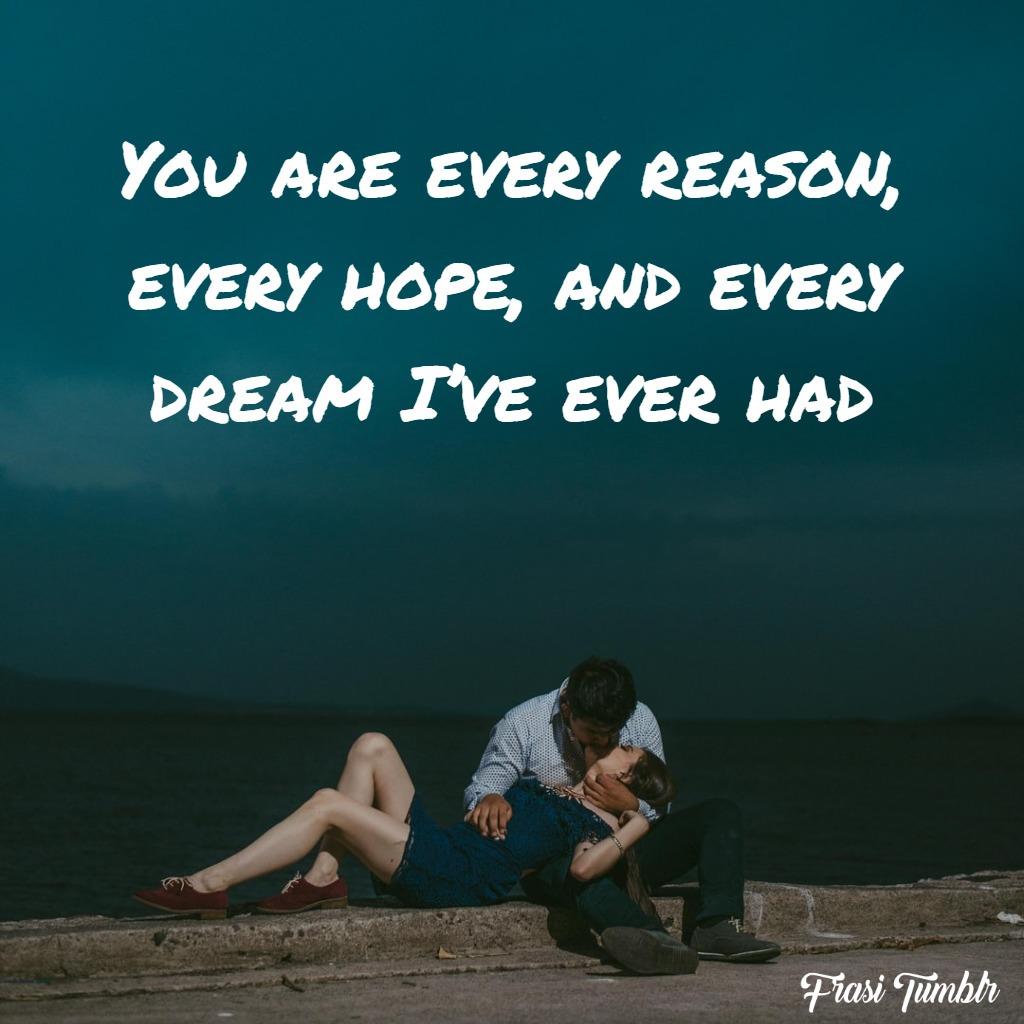 frasi-dolci-inglese-ragione-sogno