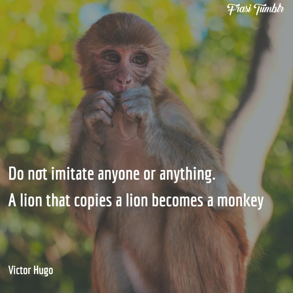 frasi-essere-sé-stessi-inglese-scimmie-leoni