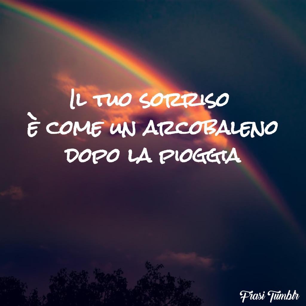 frasi-sorriso-amore-arcobaleno-pioggia