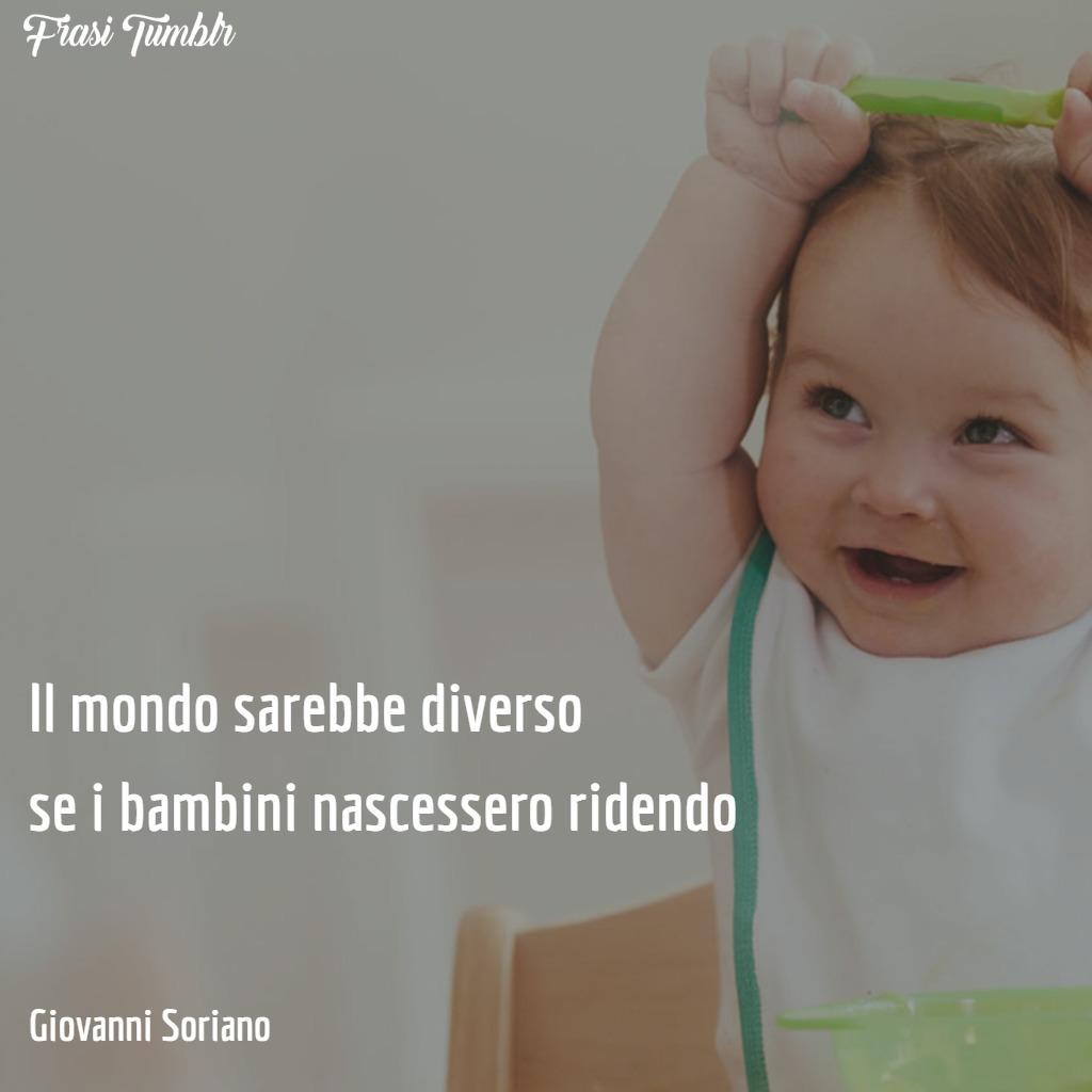 frasi-sorriso-bambino-nascono-ridendo