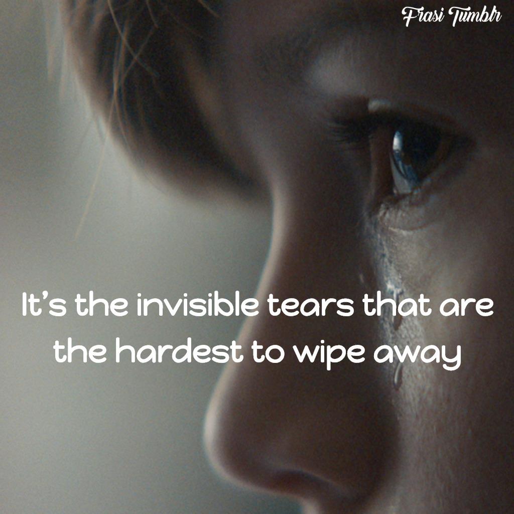 frasi-tristi-inglese-lacrime-invisibili
