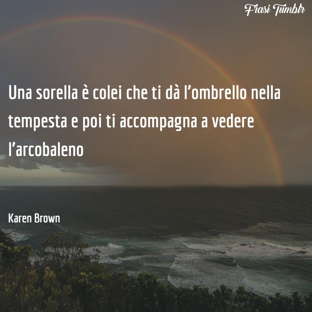 frasi-fratelli-sorelle-brevi-sorella-ombrello-tempesta-arcobaleno