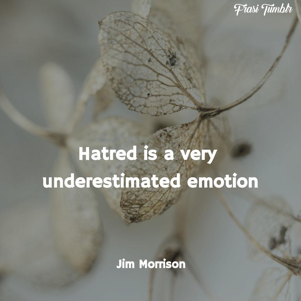frasi-jim-morrison-inglese-odio-emozione