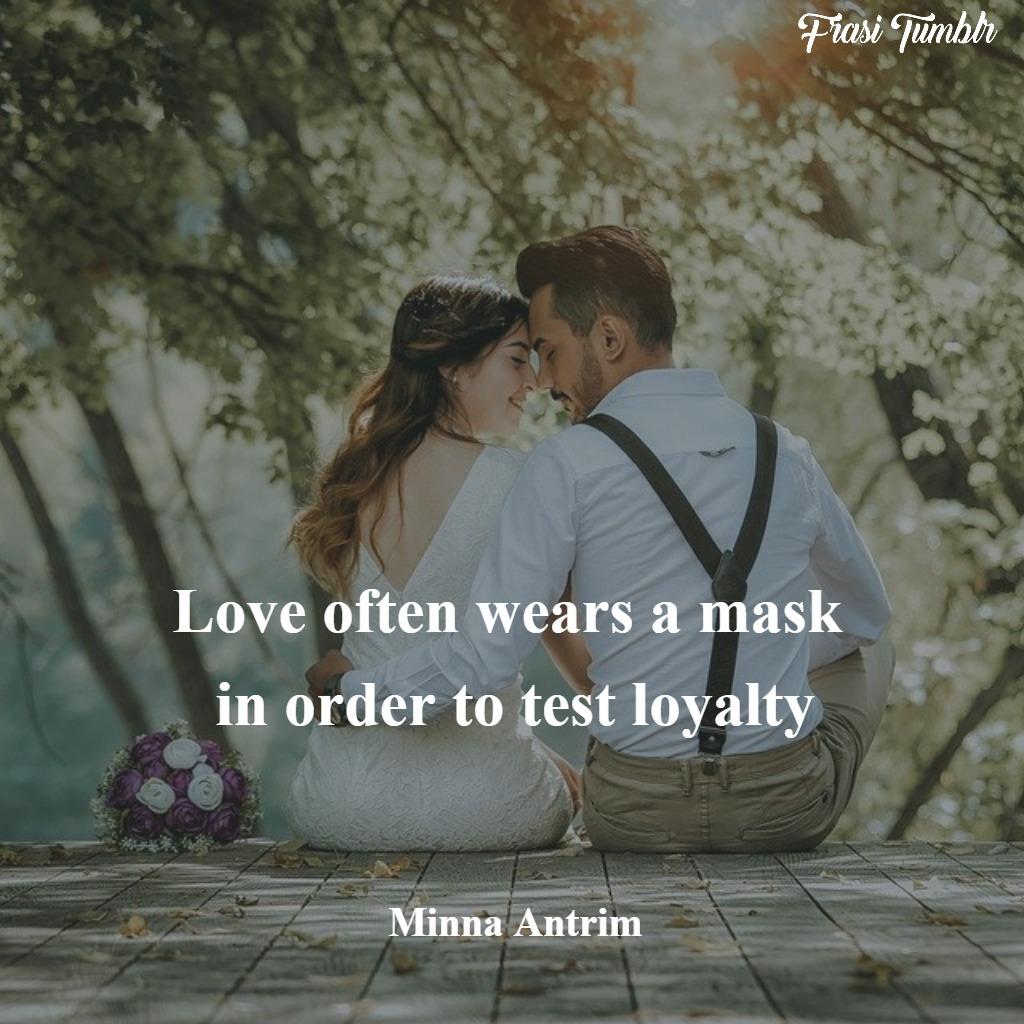frasi-maschere-inglese-amore-fedeltà