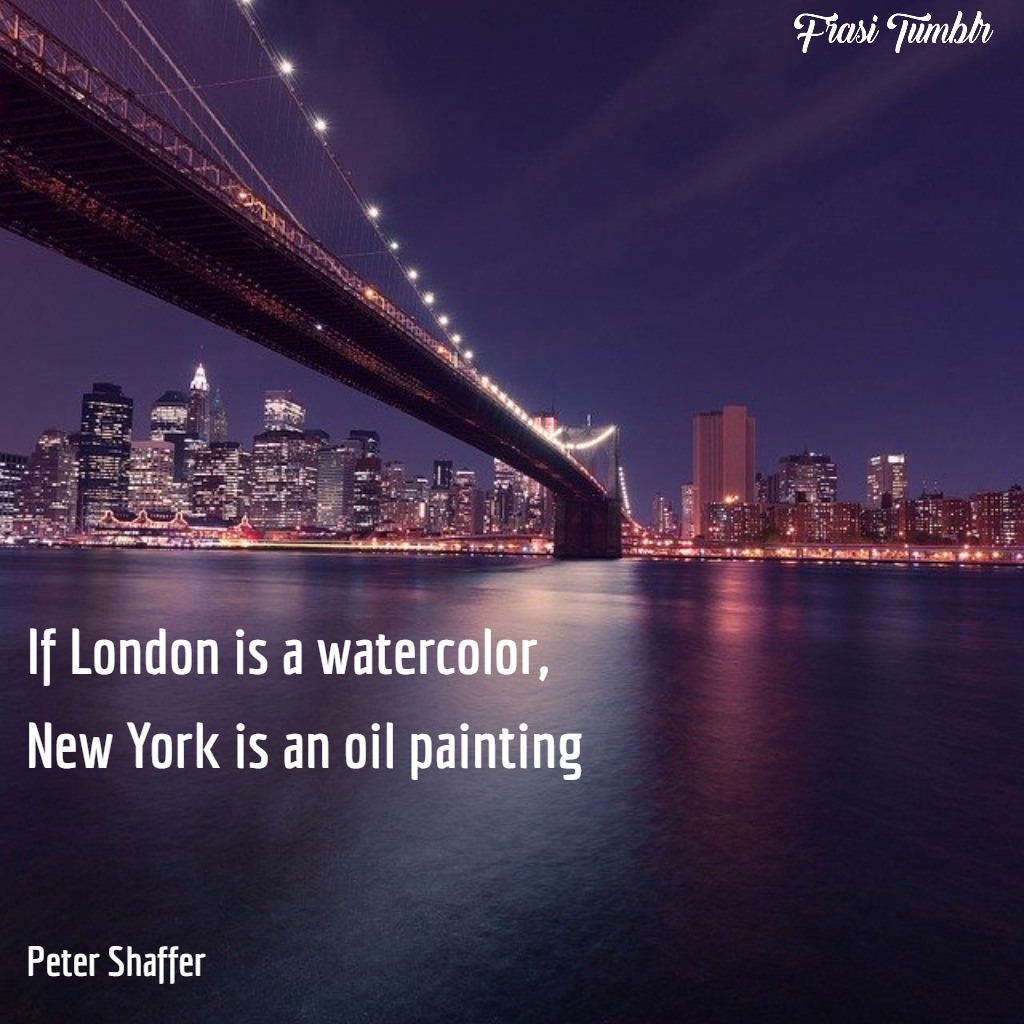frasi-new-york-inglese-dipinto