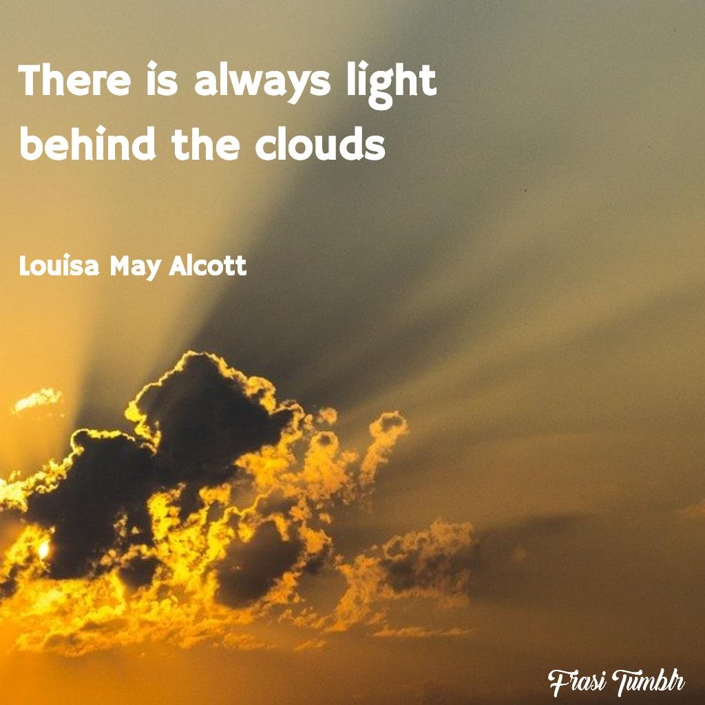 frasi-nuvole-inglese-luce-dietro