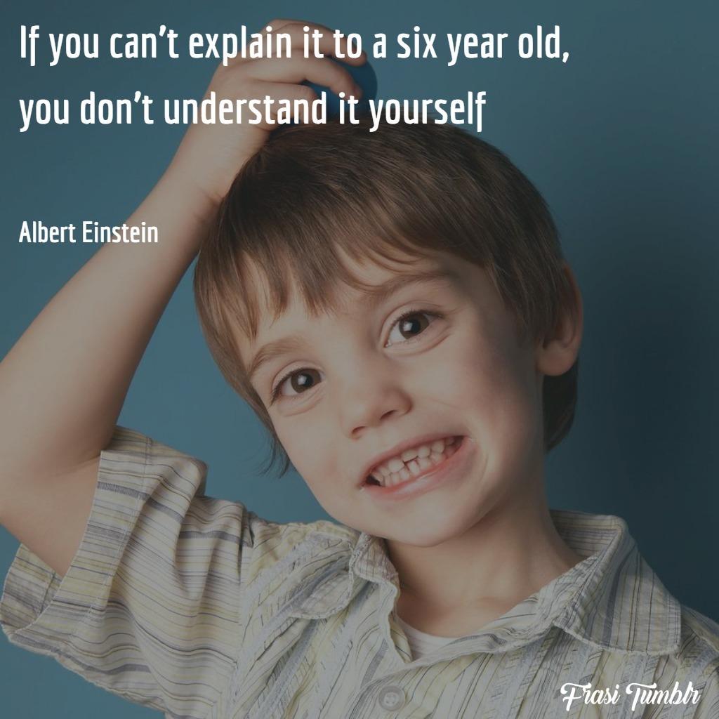frasi-intelligenza-einstein-inglese-spiegarlo-bambino
