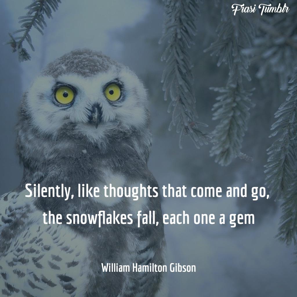 frasi-inverno-inglese-silenzio-nevica