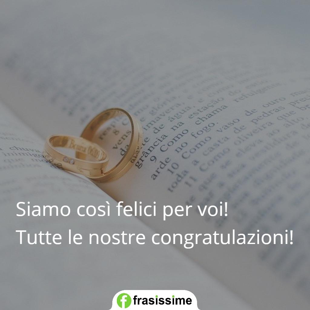 frasi auguri matrimonio belle semplici eleganti felici congratulazioni