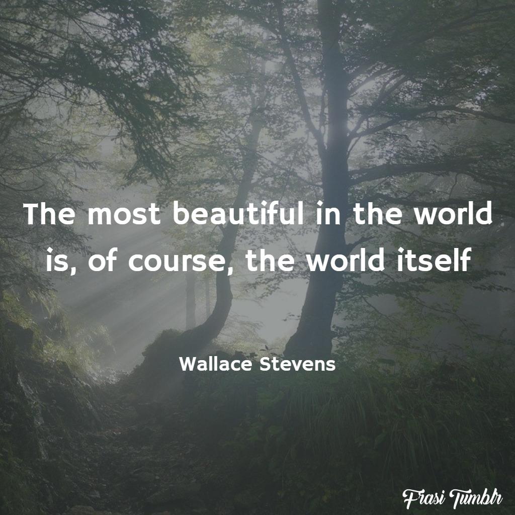 frasi mondo inglese bellezza