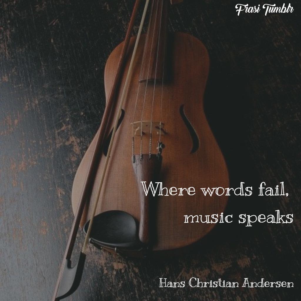frasi musica inglese musica parla