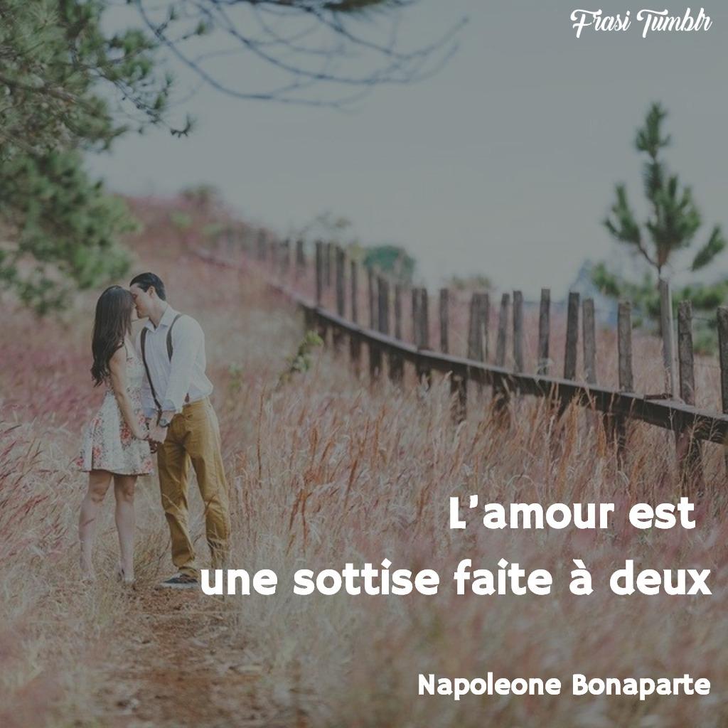 frasi napoleone bonaparte francese coraggio amore pazzia