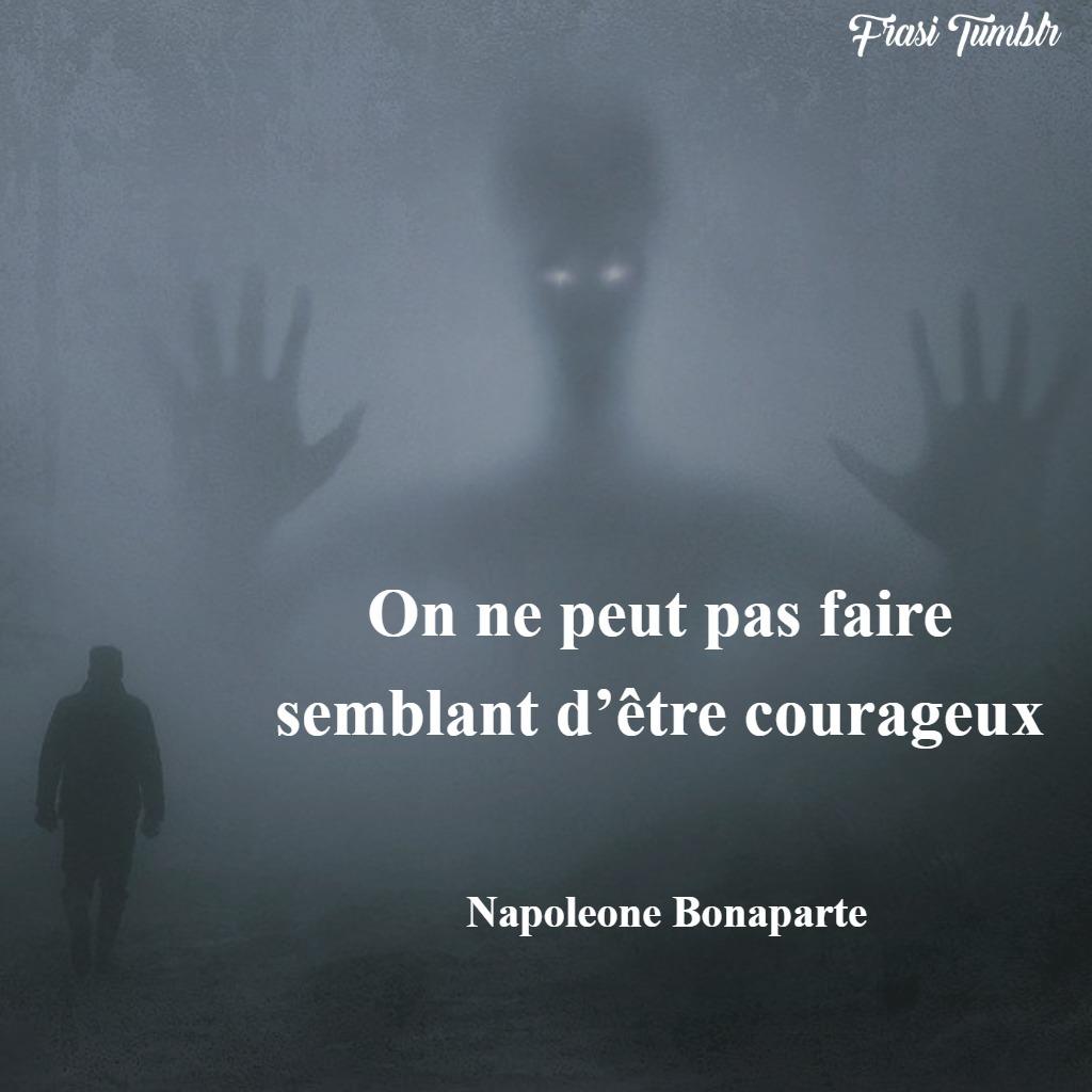 frasi napoleone bonaparte francese coraggio