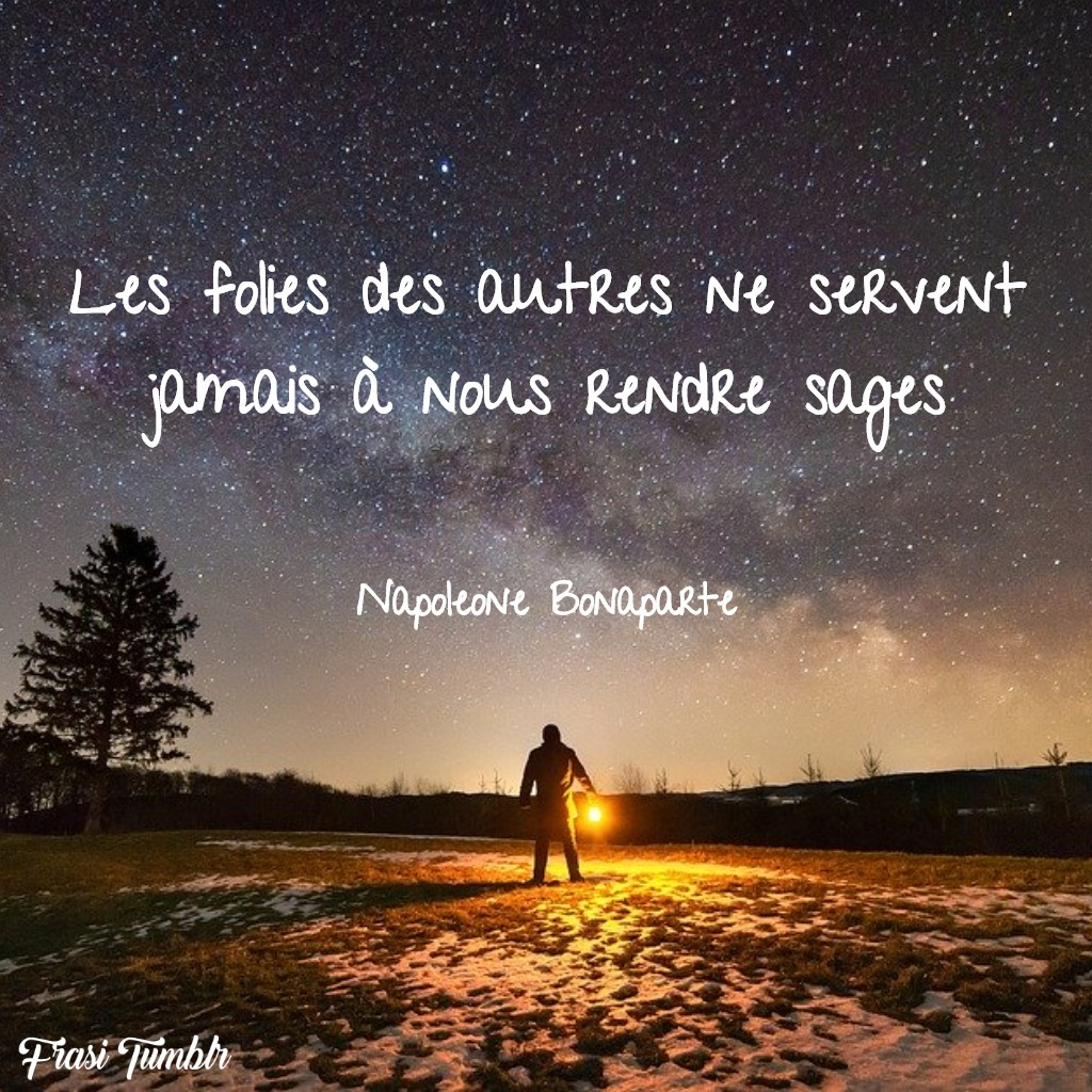 frasi napoleone bonaparte francese follia saggezza