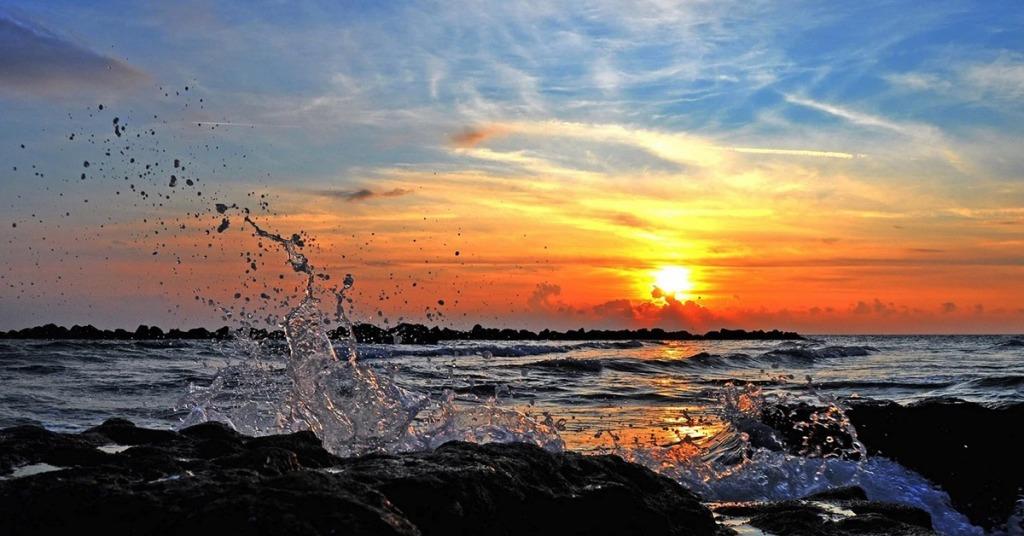 frasi sul tramonto al mare