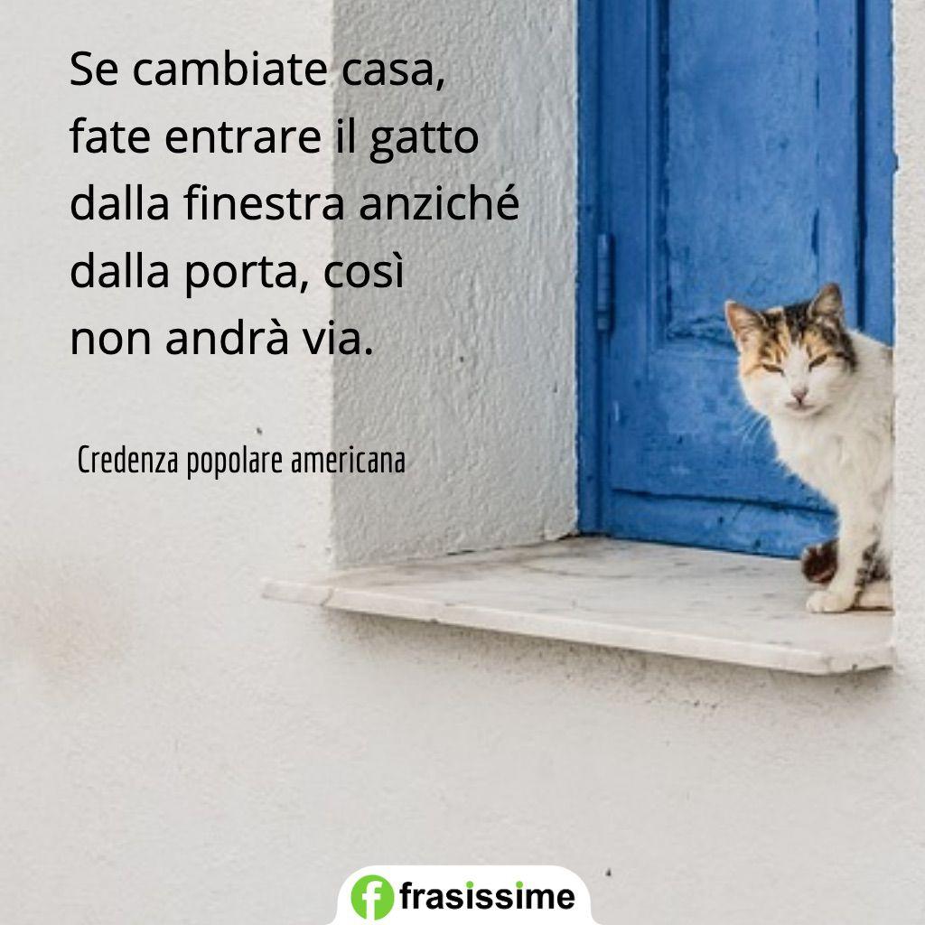 proverbi sui gatti cambiate casa finestra