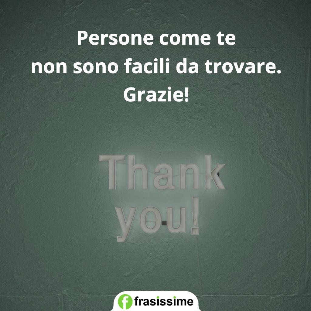 frasi ringraziamento persone facili trovare
