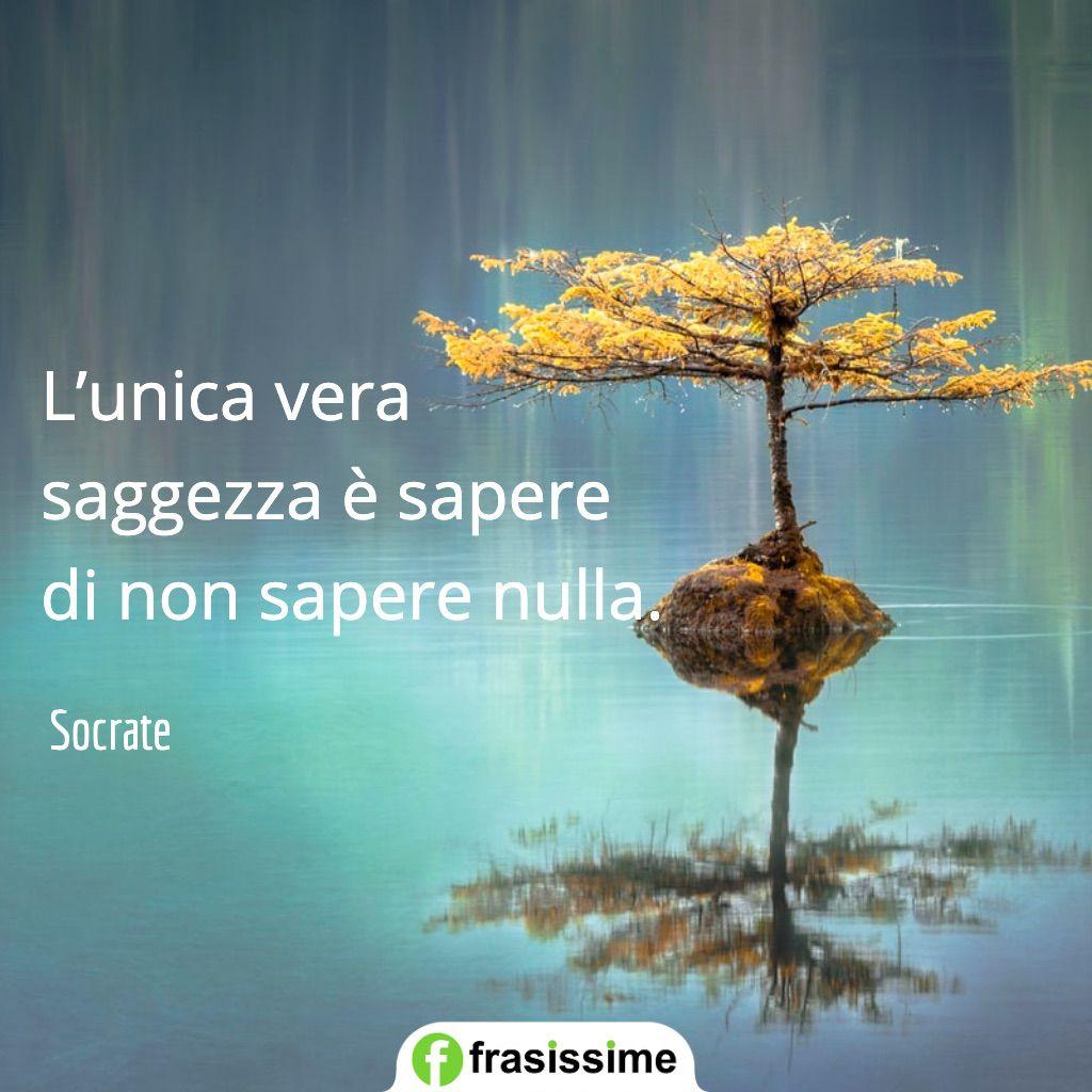 frasi spagnolo belle vera saggezza non sapere nulla socrate