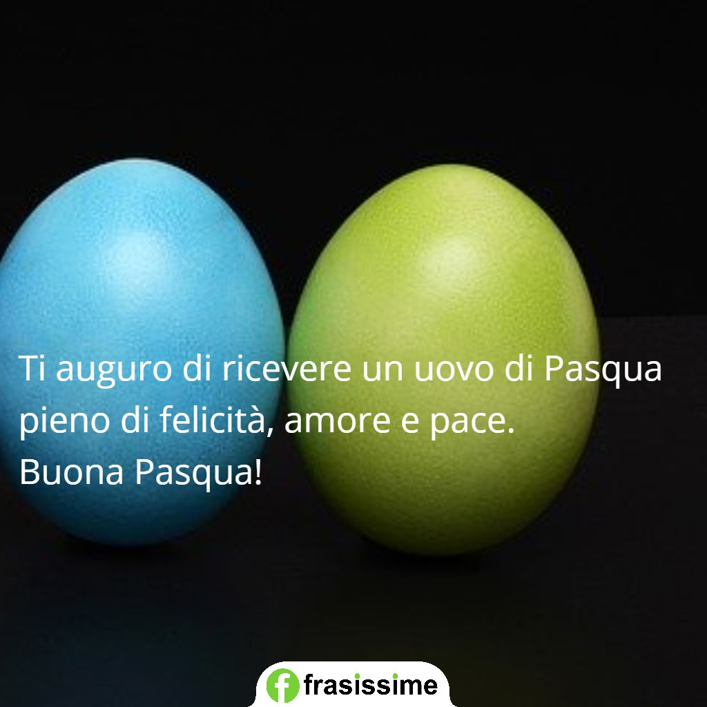 immagini frasi auguri pasqua amore pace uovo