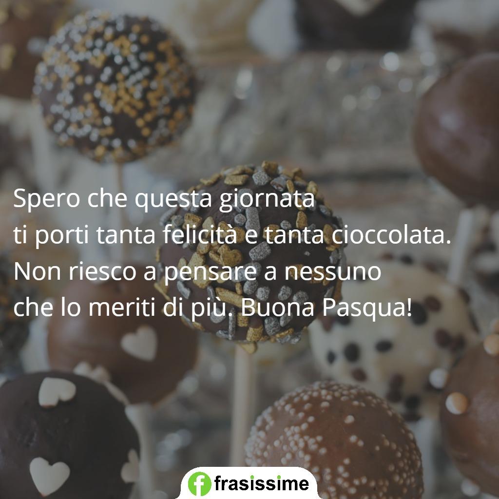immagini frasi auguri pasqua felicita cioccolata