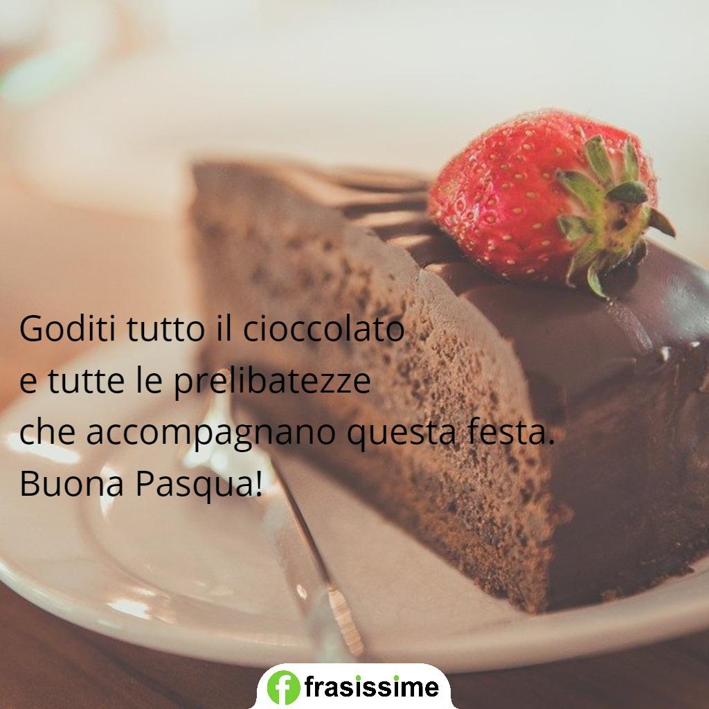 immagini frasi auguri pasqua festa cioccolato