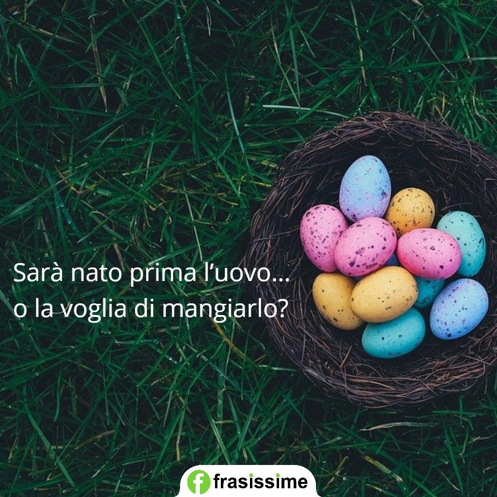immagini frasi auguri pasqua uovo mangiarlo