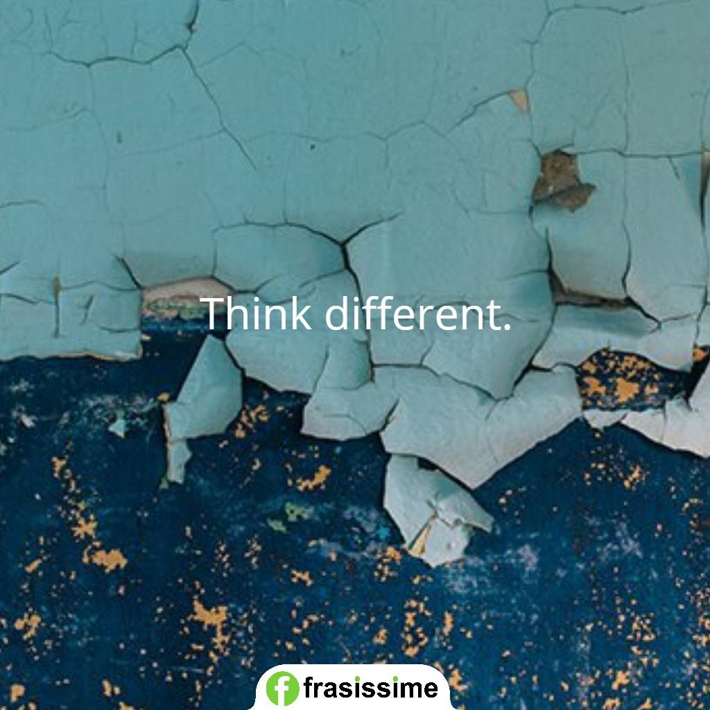 immagini frasi sogni pensa differente