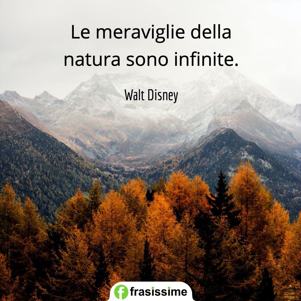 frasi ambiente meraviglie natura infinite disney