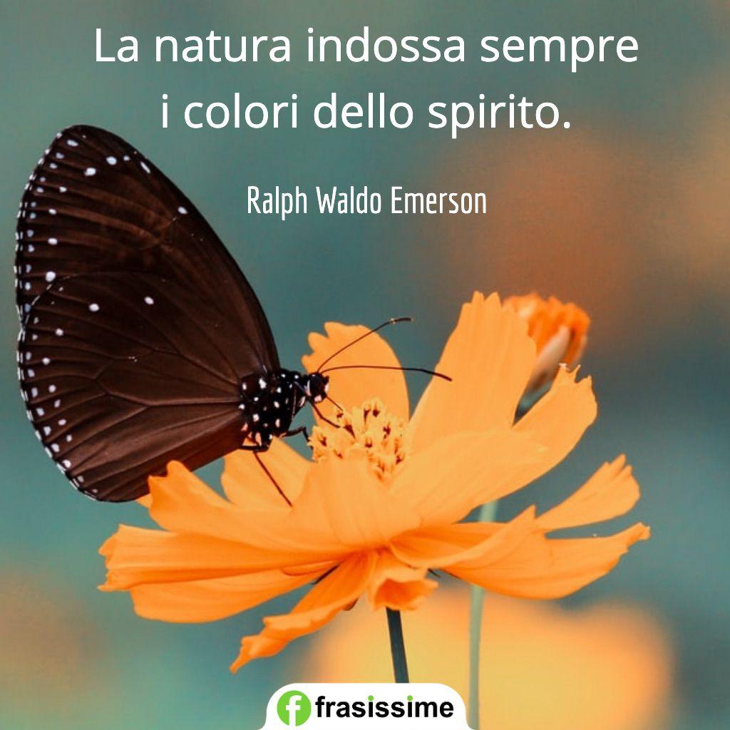 frasi ambiente natura indossa colori spirito emerson