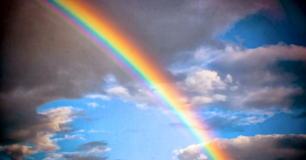 frasi sull arcobaleno