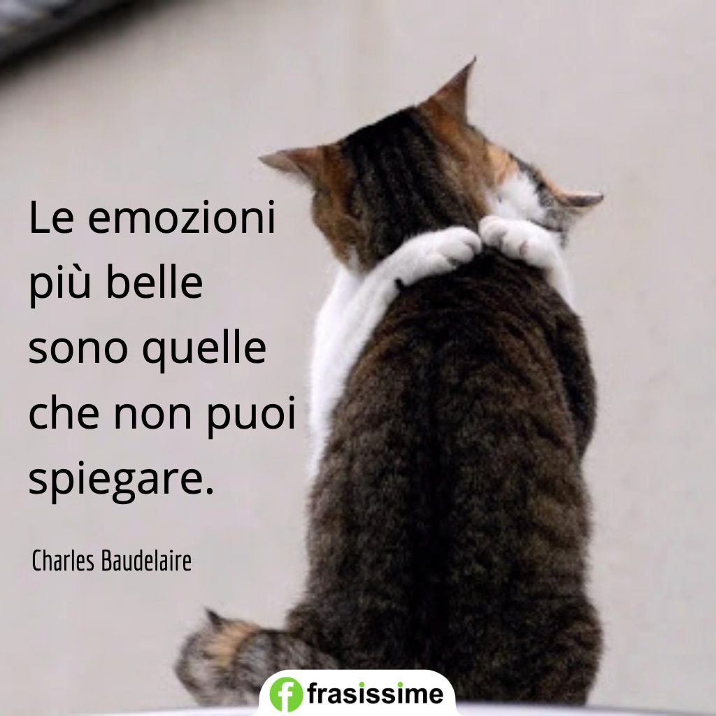 frasi emozioni belle spiegare baudelaire