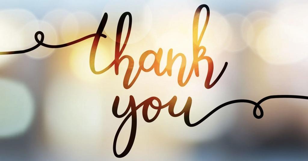 frasi di ringraziamento