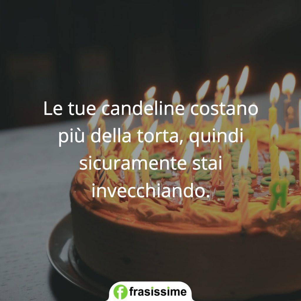 frasi candeline costano torta