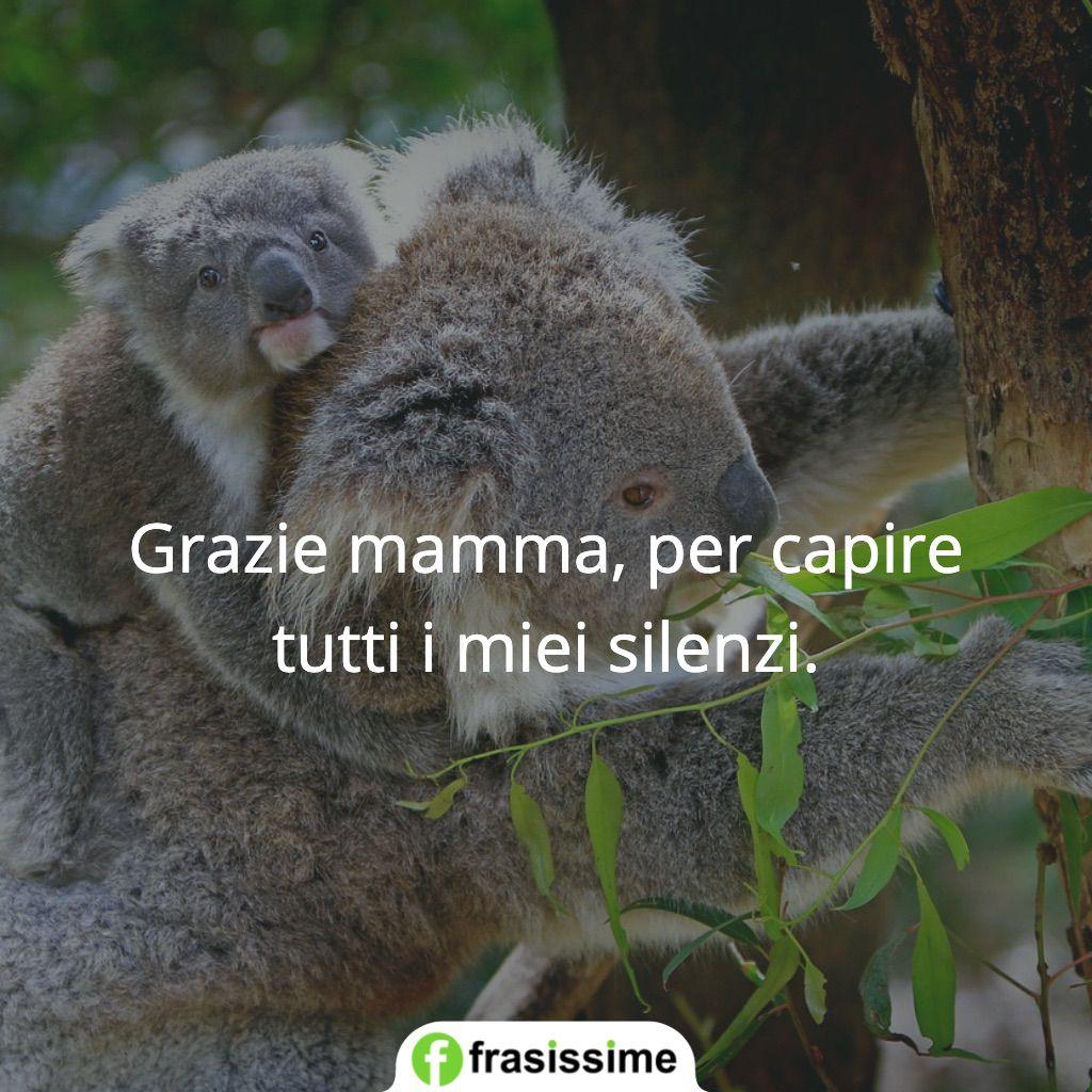 frasi grazie mamma capire silenzi