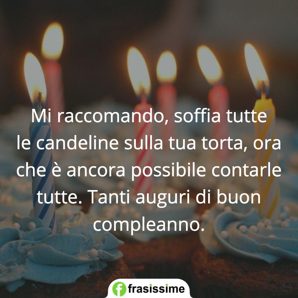 frasi soffia candeline torta auguri buon compleanno
