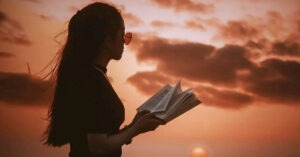 poesie sul tramonto